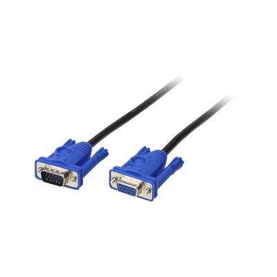 ATEN 2L-2406 - VGA M/F 6m VGA kabel  - Blauw,Grijs