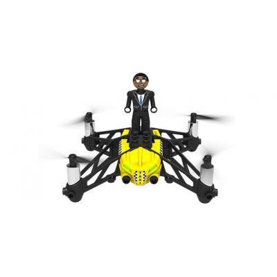 Parrot drone: AIRBORNE CARGO MINIDRONE TRAVIS - GEEL - Zwart, Geel