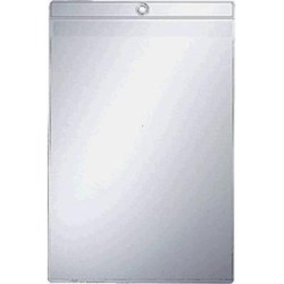 Leitz Clear Pocket with Eyelet & Flap A5 Map - Transparant
