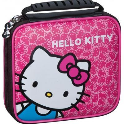 Bigben interactive portable game console case: Officiële Nintendo 2DS beschermhoes met Hello Kitty - Roze, Wit