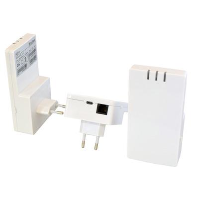 Wantec 5620 Netwerk verlenger - Wit