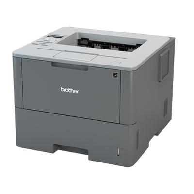 Brother Netwerk 46 ppm - 256 MB - interne duplexunit - LCD display Laserprinter - Zwart