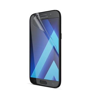 Behello screen protector: Samsung Galaxy A5 (2017) Screen Protector Glossy Transparent - Transparant