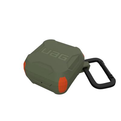 Urban Armor Gear Hardcase for Samsung Galaxy Buds Pro Koptelefoon accessoire - Olijf,Oranje