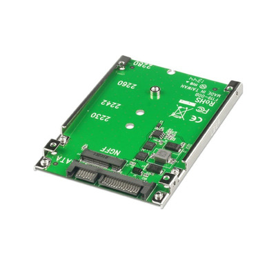 """Lindy M.2 SSD to 2.5"""" SATA Adapter Interfaceadapter - Groen"""
