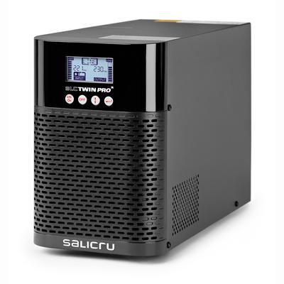 Salicru SLC 1000 TWIN PRO2 – 1000 VA On-line double-conversion Uninterruptible Power Systems (UPS) UPS - Zwart