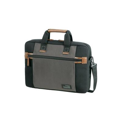 Samsonite laptoptas: Sideways - Zwart, Grijs
