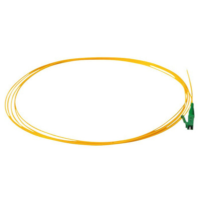 Lanview LC/APC, OS2, PVC, 9 / 125 µm, Yellow, 2 m Fiber optic kabel - Geel