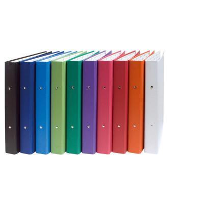 Exacompta ringband: Ordner harde kaft papier 2 ringen 30mm Gemarmerd - A4 - Multi kleuren