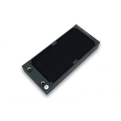 Ek water blocks cooling accessoire: EK-CoolStream CE 280 (Dual) - Zwart