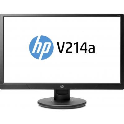 HP V214a monitor - Zwart