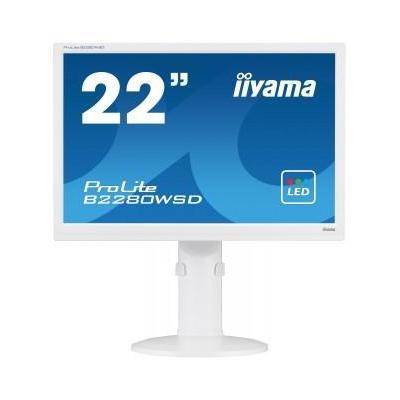 "Iiyama ProLite B2280WSD-W1 22"" WSXGA+ TN - Business monitor - Wit"
