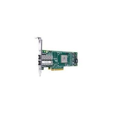 Lenovo netwerkkaart: ThinkServer, QLE2672 Dual Port, 16Gb Fiber Channel, HBA - Groen, Zilver