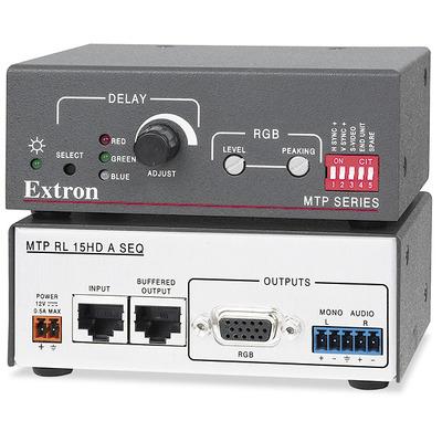 Extron MTP RL 15HD A SEQ Reciever - Zwart