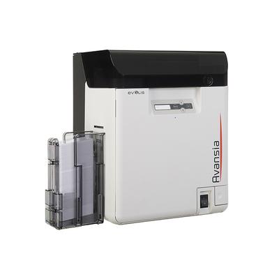 Evolis plastic kaart printer: Avansia - Zwart, Wit