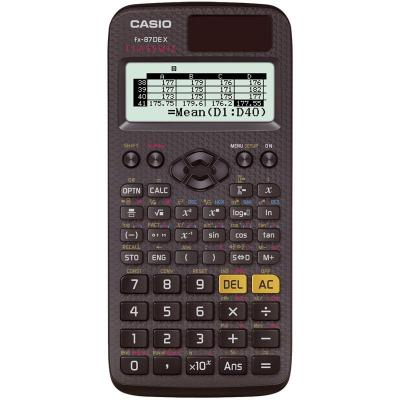 Casio calculator: FX-87DE X - Zwart