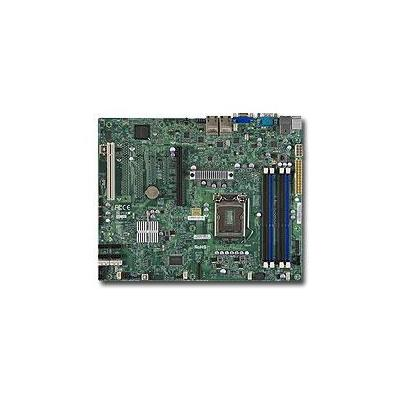 Supermicro server/werkstation moederbord: MBD-X9SCI-LN4F-O Single SKT Intel C204 Chipset SATA 4xLAN IPMI Motherboard - .....