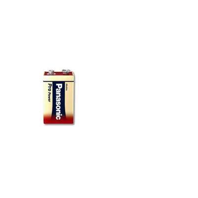 Panasonic batterij: 6LR61PPG - Rood, Wit