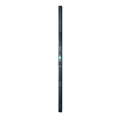 APC Rack PDU, Metered-by-Outlet with Switching, ZeroU, 16A, 230V, (21x) C13 & (3x) C19 Energiedistributie - Zwart