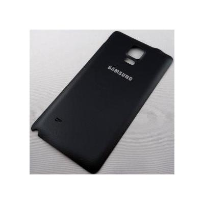 Samsung mobile phone spare part: N910F Note 4, battery cover, black