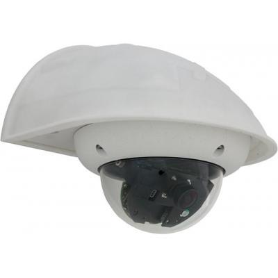 Mobotix muur & plafond bevestigings accessoire: Wandhalter für D22/D24 IT/Sec, Q22/Q24 Sec, ExtIO - Wit