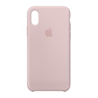 Apple mobile phone case: Siliconenhoesje voor iPhone X - Rozenkwarts