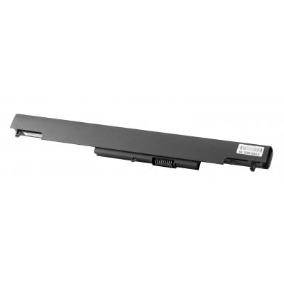 Hp batterij: HS04 notebookbatterij - Zwart