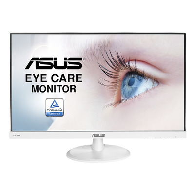 "ASUS VC239HE-W 23"" FHD IPS Monitor - Zwart, Wit"