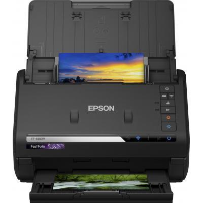 Epson scanner: FastFoto FF-680W - Zwart