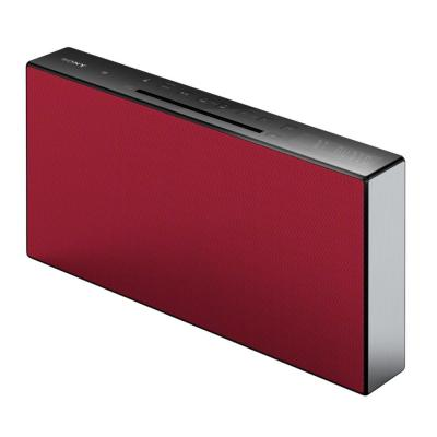 Sony home stereo set: CMT-X3CD - Rood