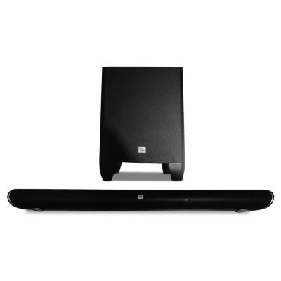 Jbl soundbar speaker: Cinema SB350 - Zwart, Zilver
