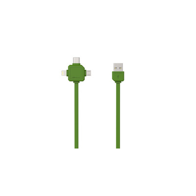 Allocacoc 9003GN/USBC15 USB kabel - Groen