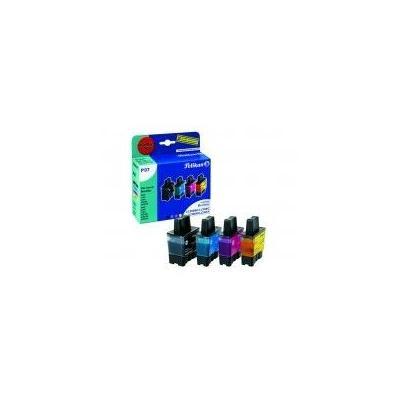 Pelikan printer accessoire: bundelactie LC-900 - Zwart, Cyaan, Magenta, Geel