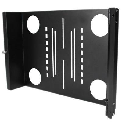 Startech.com rack toebehoren: Draagbare server rack met handvaten rolbare serverkast 9U - Zwart