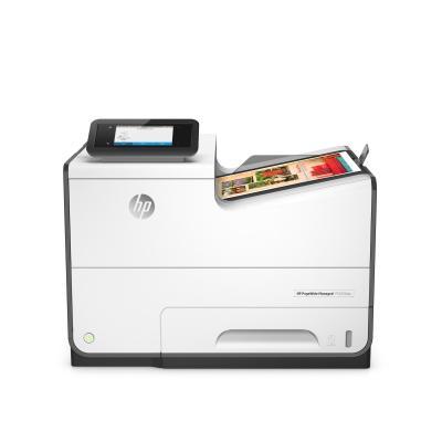 HP inkjet printer: PageWide Managed P55250dw - Zwart, Cyaan, Magenta, Geel (Demo model)