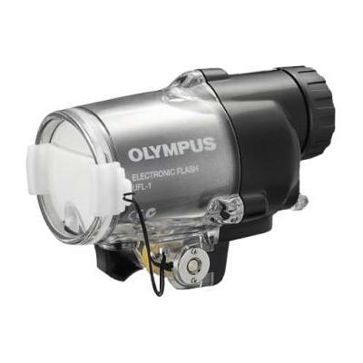 Olympus camera flitser: UFL-1 - Zwart, Zilver