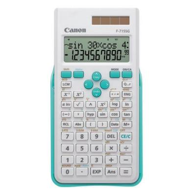 Canon calculator: F-715SG - Blauw, Wit