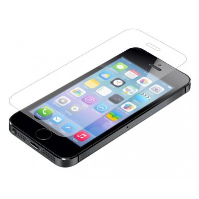 Invisible shield screen protector: InvisibleShield GLASS, Apple IPhone 5/5C/5S - Transparant