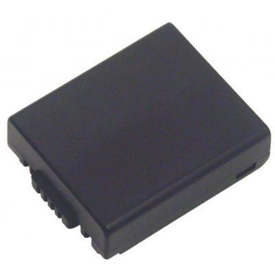 2-power batterij: Digital Camera Battery 7.2V 750mAh - Zwart