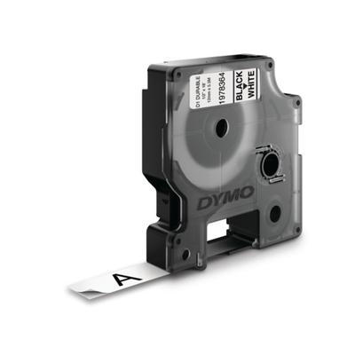 DYMO D1 -Durable Labels - Black on White - 12mm x 5.5m Labelprinter tape - Multi kleuren