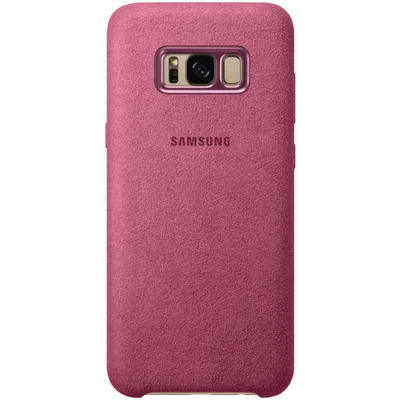 Samsung Galaxy S8+ Alcantara Cover Roze Mobile phone case