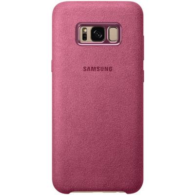 Samsung Galaxy S8+ Alcantara Cover Roze mobile phone case