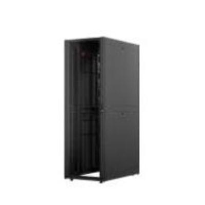 """APC NetShelter SX 48U 750mm(b) x 1070mm(d) 19"""" IT, netwerkbehuizing met zijpanelen, zwart Rack"""