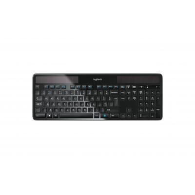 Logitech toetsenbord: K750 - Zwart, QWERTY