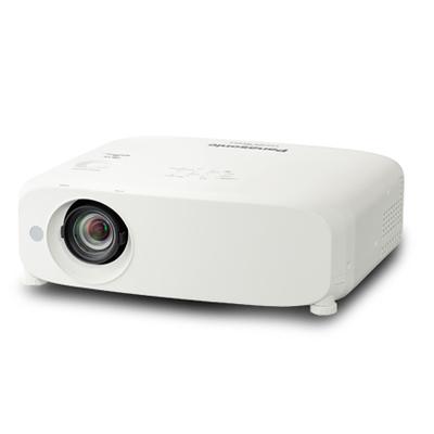 Panasonic LCD, 5500 lm, WXGA, 16:10, 16000:1, Ethernet, RS-232c Beamer - Wit