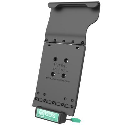 RAM Mounts 385.5g, Composite, Black Mobile device dock station - Zwart