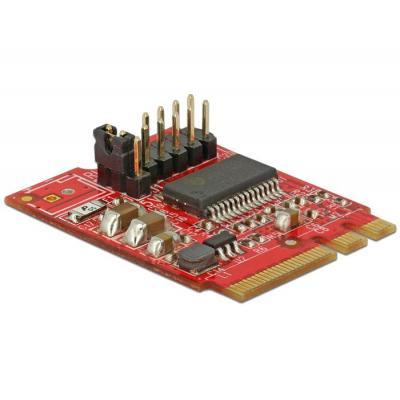 Delock electric converter: Converter M.2 Key A+E male > 1 x Serial RS-232 male