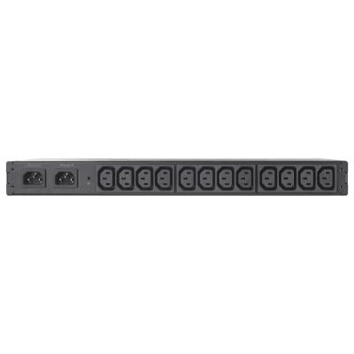Apc energiedistributie: Automatic Transfer Switch, (12x) C13, 2300W, Rack mountable - Zwart