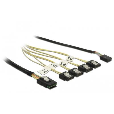 DeLOCK 85682 ATA kabel - Zwart