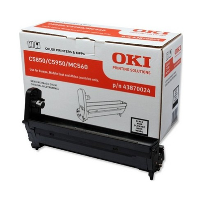 OKI drum: Black image drum for C5850/5950 - Zwart